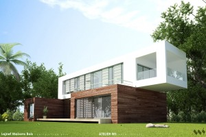 PREFABRICATED HOUSE – THREE MODULES